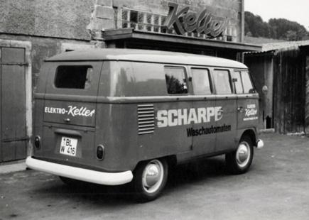 Gründung der Firma Elektro Keller